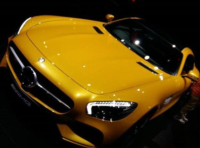 Mercedes Benz AMG GTS Auto Expo 2016 🚘🚘 Mercedes Benz Mercedesbenz AMG Gts Autoexpo2016 Greaternoida Gloss Yellow