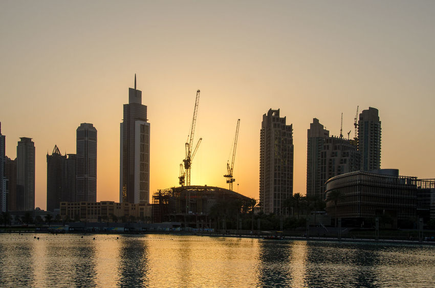 Architecture Building Exterior Built Structure Capital Cities  City Cityscape Connection Crane Crane - Construction Machinery Development Engineering Famous Place Industry International Landmark Outdoors Skyscraper Tall Tall - High Tower