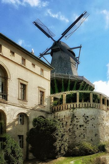 Galeriewindmühle - Historical Windmill Hidden Gems  Outdoors Landscape_Collection Leisure Activity Golden Hour Enjoying Life Historical Buildings History Windmill Home Is Where The Art Is Alternative Energy Windcraft Silhouette Deutscher Klassizismus Persius Ludwig Persius