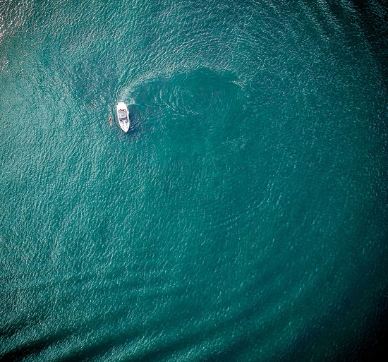 Drone  Aerial View Beauty In Nature Boat Deck Day Dronephotography High Angle View Journey Mode Of Transport Nature Nautical Vessel No People Outdoors Sailing Scenics Sea Ship Transportation Travel Vacations Wake Wake - Water Water Yacht Yachting