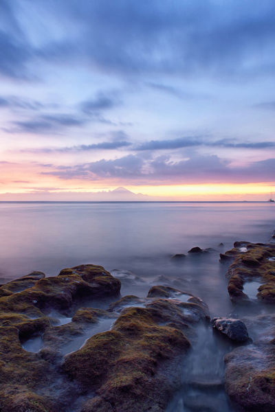 Blue Hour Cloud INDONESIA Landscape_Collection Long Exposure Shot Sunset_collection Waterscape Beach Cloud - Sky Clouds And Sky Coral Horizon Over Water Landscape Landscape_photography Lombok Long Exposure Moving Clouds Nature Outdoors Sea Sky Slow Shutter Slow Shutter Speed Sunset Water