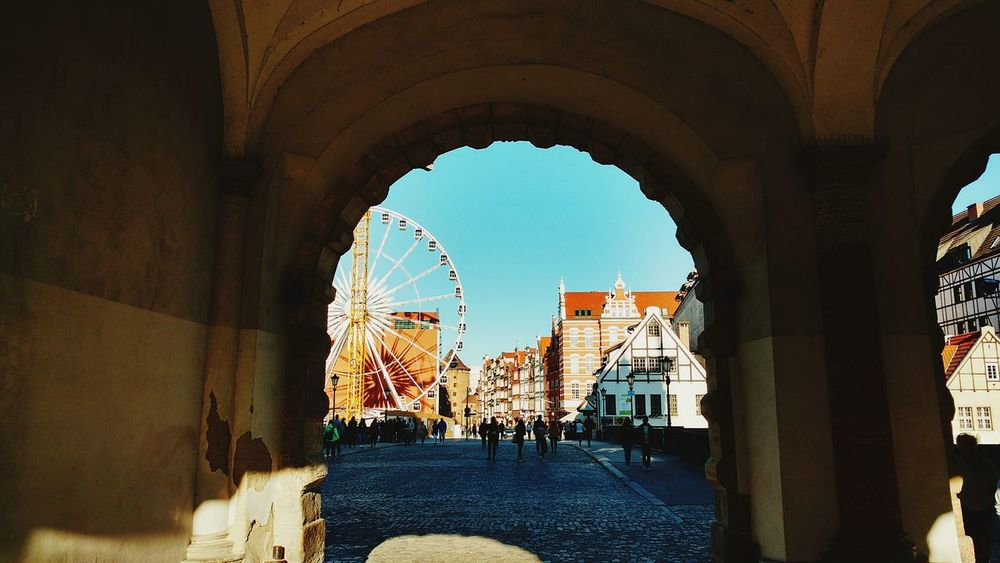 Live For The Story Summer Trip Summer Travel Gdansk, Poland Green Gate Travel Travelling Cityscape Vacations Built Structure