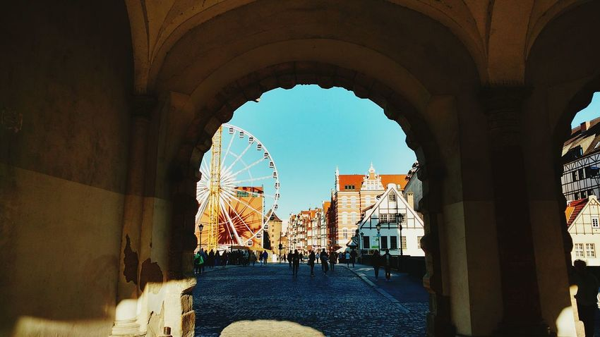 Live For The Story Summer Trip Summer Travel Gdansk, Poland Green Gate Travel Travelling Cityscape Vacations Built Structure #urbanana: The Urban Playground