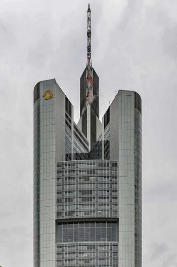 Commerzbank in Frankfurt am Main Architecture Building Exterior Built Structure City Frankfurt Am Main Modern Nikon 18-200 Nikon D300s Office Building Skyscraper Tall - High Tower Urban Nikonphotography