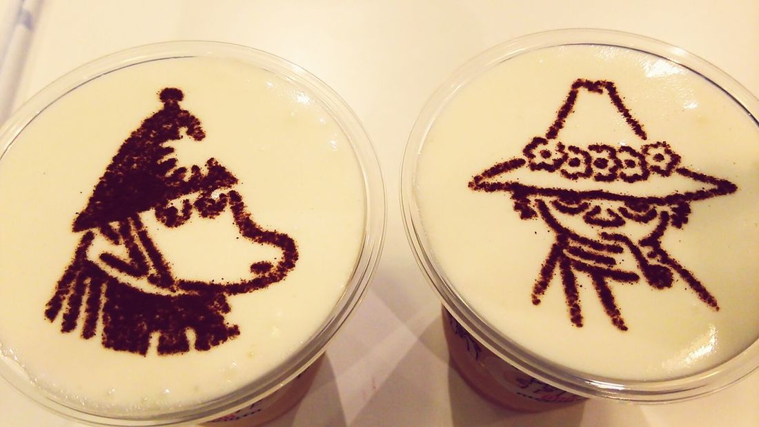 Moomin Drinks Cafe Time
