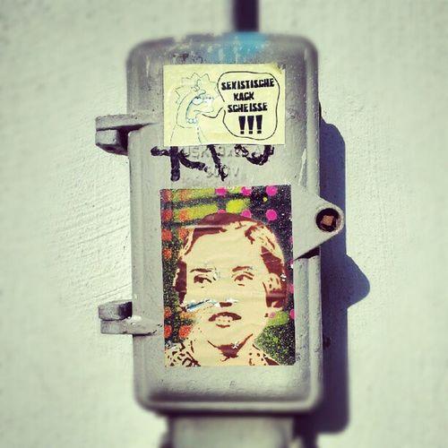 #sexistisch #kackscheiße #streetart #leipzig Leipzig 10likes Sexistisch Kackscheiße Streetart