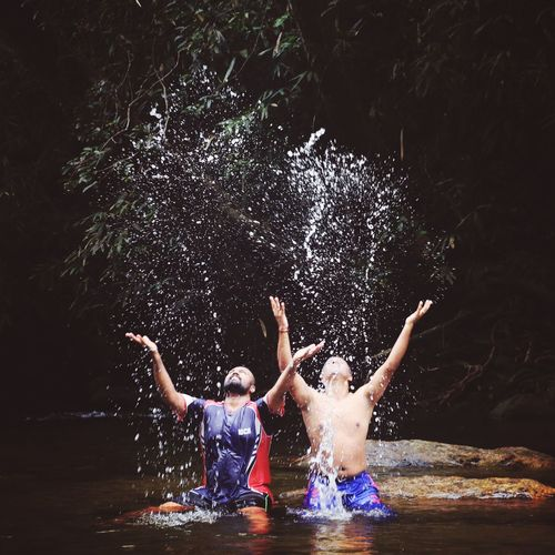 Water Fun Water Waterfront Water_collection Droplets Droplet Playing Friends Friendship ❤ Friends ❤ Friendship Water Child Swimming Togetherness Boys Childhood Spraying Swimming Pool Girls EyeEmNewHere