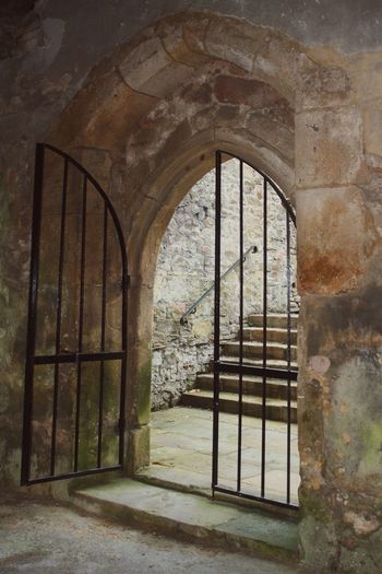 Shot from Skipton Castle in the old chapel Skipton Castle Skipton Stone Architecture Wroughtiron Steps