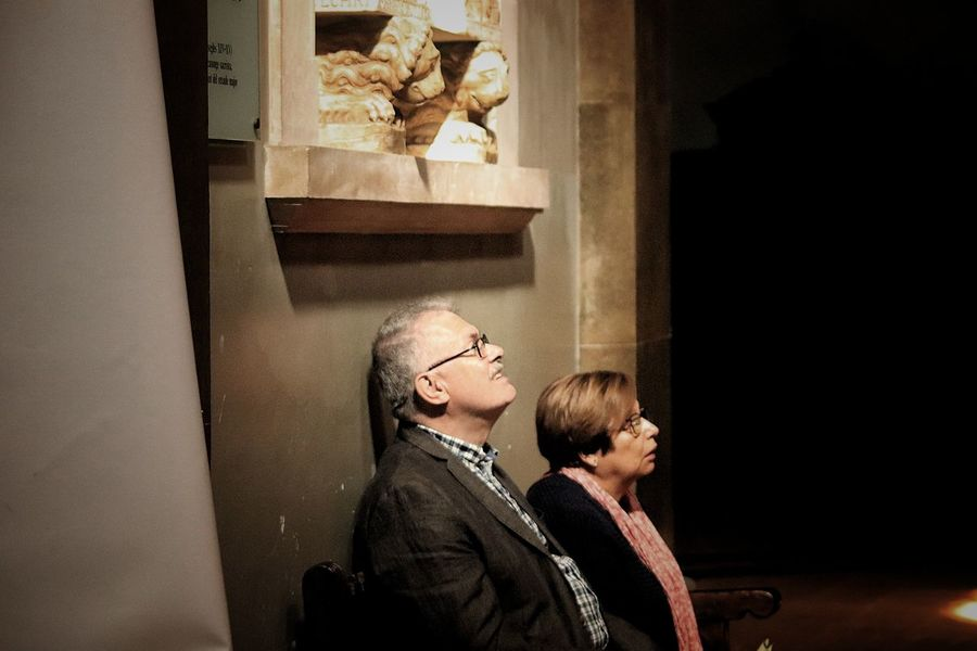 Catedraldevic Catalunyafotos Adult Women Two People Real People Sitting Architecture Contemplation EyeEmNewHere Capture Tomorrow