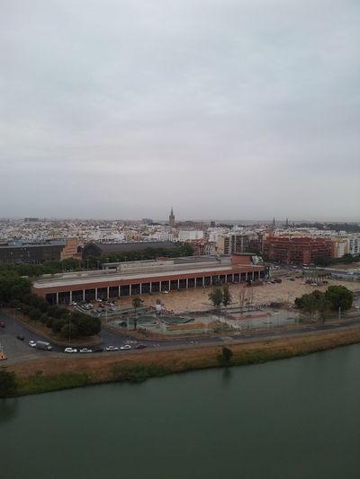 #andalucía #Artesevillano #giralda A Lo Lejos #rioguadalquivir #sevilla En Las Alturas #vista Aerea City Day No People