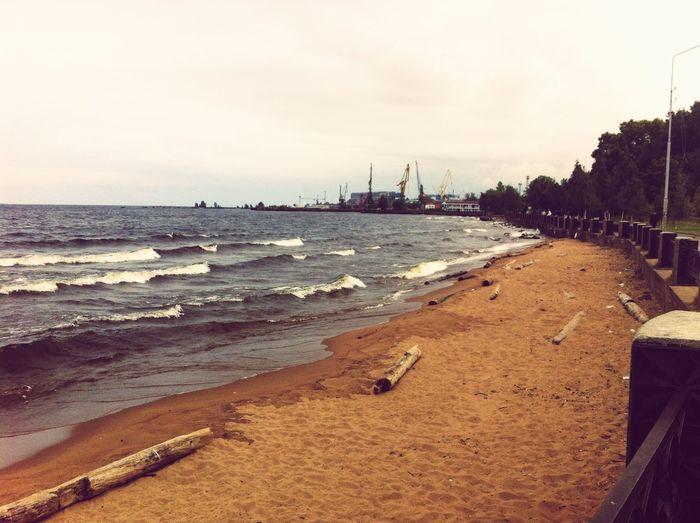 Oniegu. Онежское озеро. Ääninen Набережная.