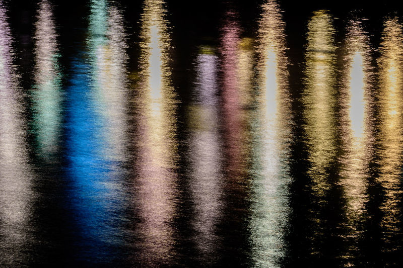 Abstract Color Colorful Light Reflection Light Reflection Surface Light Reflection Water Multi Colored Nature Outdoors Reflection Water Waterfront
