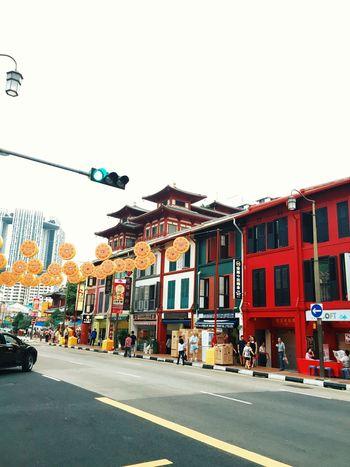 Chinatown Chinese New Year Food Street Singapore