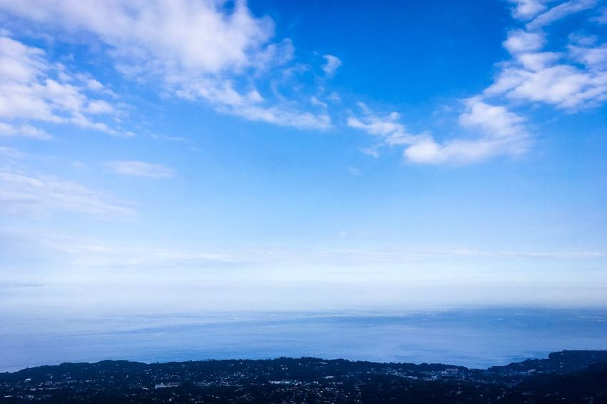 Sky Scenics Beauty In Nature Nature Tranquil Scene Cloud - Sky No People Tranquility Blue Outdoors Landscape Mountain Day