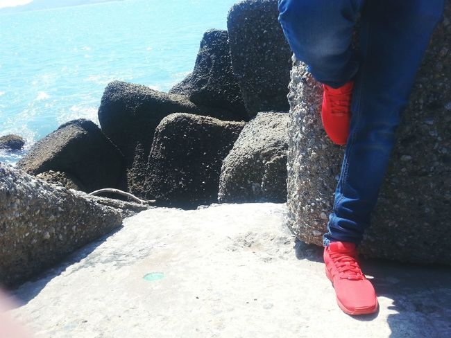 Shoes Red Redshoes Scogli Mare Friends