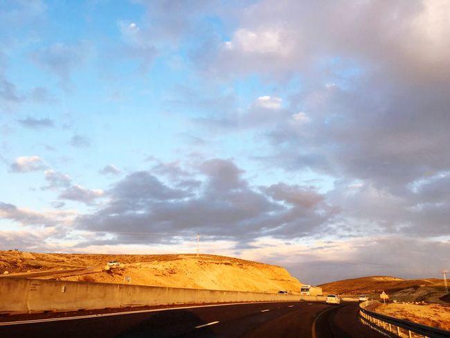 Desert road Nature Road Desert