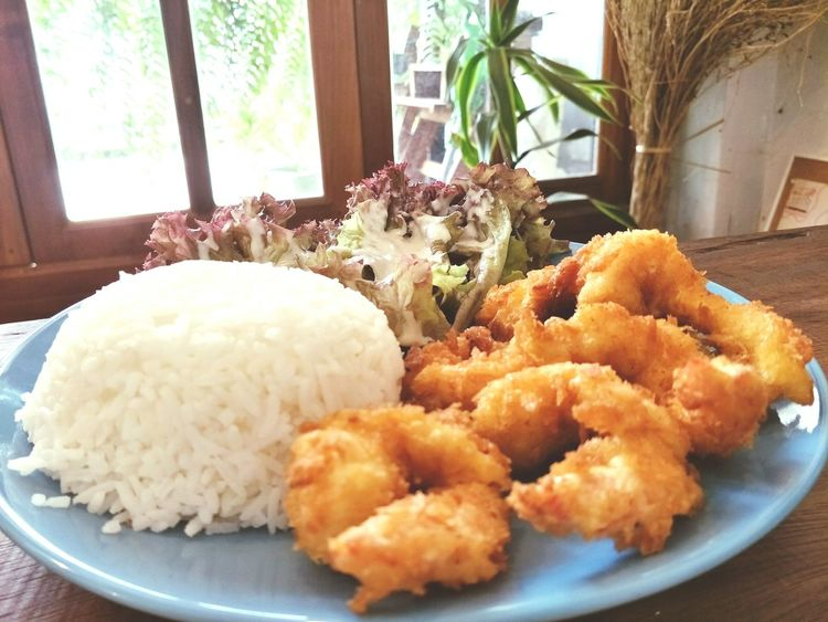 Food Indoors  No People Freshness Ready-to-eat Day Shrimps Tongkatsu