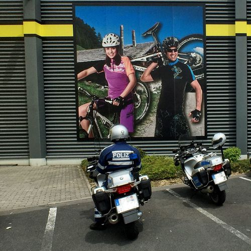 """""""Bicycle, bicycle- I want to ride..."""" Cycling Bicycle Motorcycles Police"""