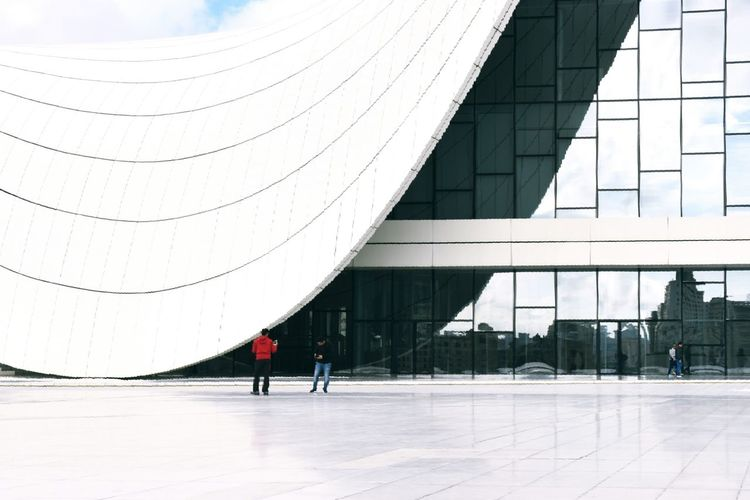 Architecture Built Structure People Winter Cold Temperature City Building Modern Museum Of Modern Art Outdoors Curvy Building Curvy Architecture Heaven Day Curvy White Museum Building Exteriors Innovation Modern Architecture Modern Art Standing Light And Darkness  Light And Shadow The Great Outdoors - 2017 EyeEm Awards The Architect - 2017 EyeEm Awards BYOPaper! Connected By Travel Stories From The City Adventures In The City