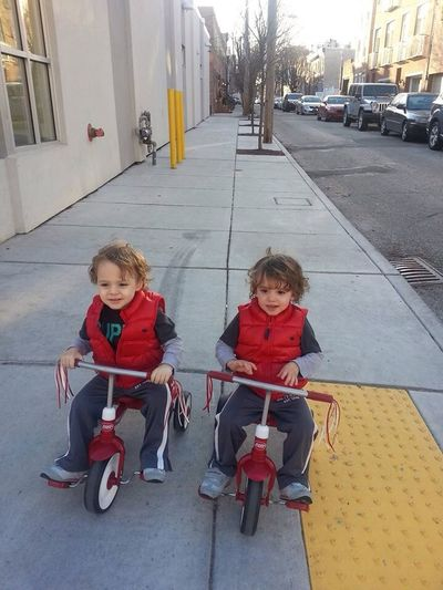 Saturday bike ride with the Saile Twins. StreamzooVille StreamzooRefugee Streamzoofamily SaileTwins