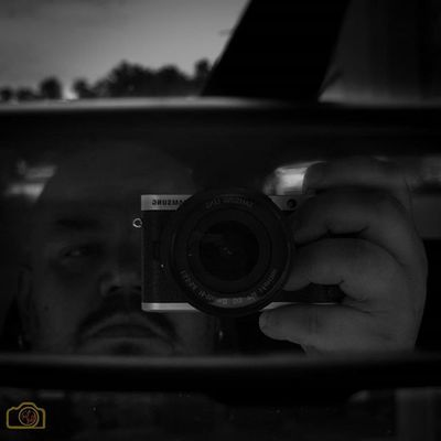 Selfie Samsung NX300 Audi Schwarzweiß Blackandwhite
