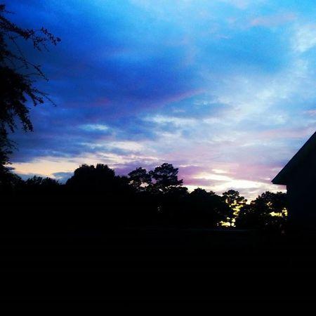 Mandeville Louisiana Sky Darksunset Silhouette Mandeville Louisiana