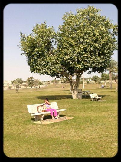 #tree #girl #morning #sun