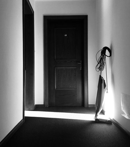 Light And Shadow Door Hotel Blackandwhite No People Indoors  Staubsauger Black And White Friday