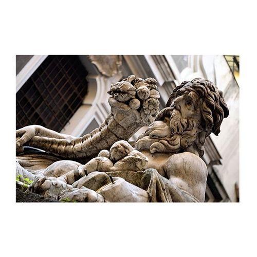 Il Decumano e le insule, l'impianto che fu greco e quindi romano e poi Napoli ... il luogo dei luoghi. ©ACHABÈQUI