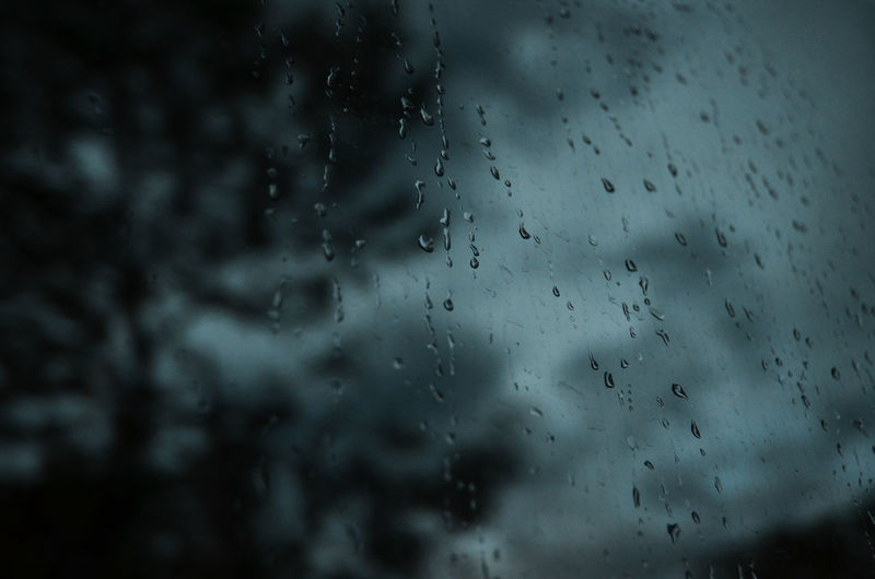 Backgrounds Close-up Day Defocused Drop Focus On Foreground Full Frame Indoors  Nature No People Rain RainDrop Rainy Season Sky Storm Cloud Water Weather Wet Window