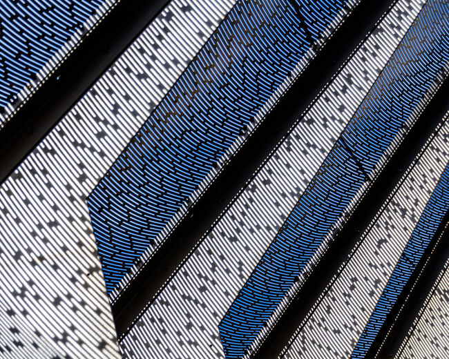 Abstract Abstractart Backgrounds Business Close-up Design Detail Exterior Full Frame Geometry In A Row Metal Metallic Modern No People Old Part Of Pattern Pattern Pieces Pattern, Texture, Shape And Form Repetition Shadow Textured  Wall Copy Space Art Is Everywhere The Graphic City 17.62°