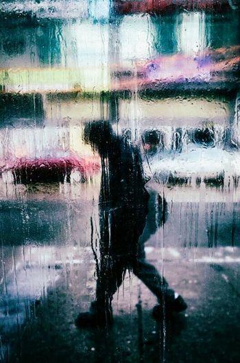 Rain Smoking