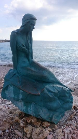 Mermaid Taşucu Mersin Sea Horizon Over Water Outdoors Adult Adults Only People Day