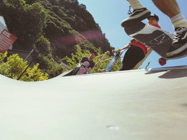 Dropping in Surfsnowdonia Sport Extreme Sports Leisure Activity Recreational Pursuit Skateboard Park Motion Skill  Sports Ramp Low Section Adult Skateboard Men Agility VitalityChallenge Mountain Halfpipe Skateboarding The Week On EyeEm Love Yourself