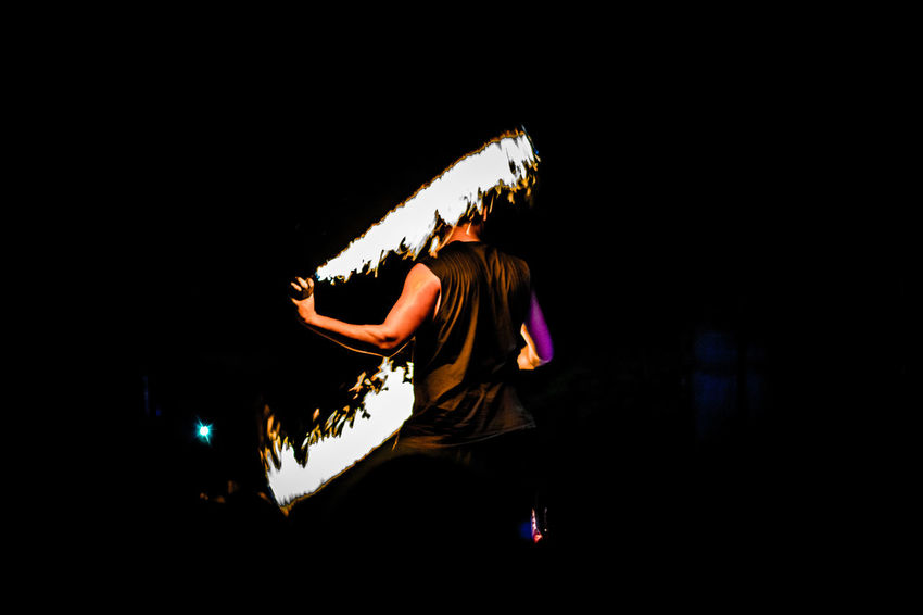 Adult Adults Only Arts Culture And Entertainment Fire Fire Dancer Illuminated Motion Music Night Night Photography Nightphotography One Person Passion People Performance Performing Arts Event Photography Popular Popular Music Concert Popular Photos Stage - Performance Space Taking Photos Taking Pictures Week On Eyeem Young Adult Welcome To Black
