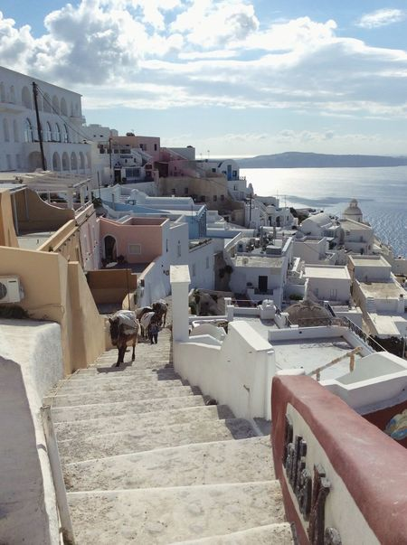 Mens sana in corpore sano Santorini Greece