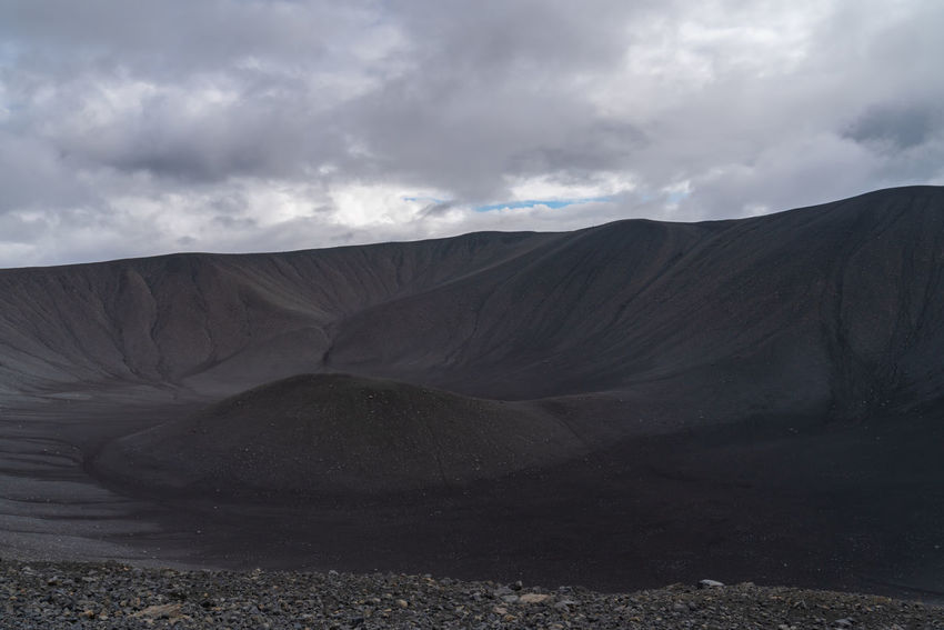 Iceland Arid Climate Beautifuliceland Beauty In Nature Cloud - Sky Crater Day Environment Geology Land Landscape Mountain Nature Non-urban Scene Outdoors Physical Geography Power In Nature Remote Scenics - Nature Sky Tranquil Scene Volcanic Crater Volcano Vulcanic Craters Vulcano