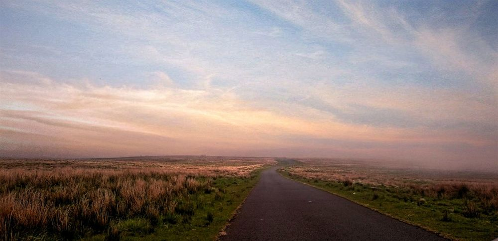 The Great Outdoors - 2016 EyeEm Awards Lonely Road Middle Of Nowhere On The Moors Firing Range Otterburn Ranges Beautiful Place In The Wilderness