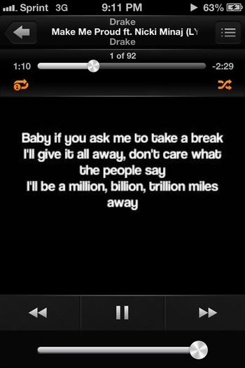 This Was My Song Till The Radio Started Over Playing It
