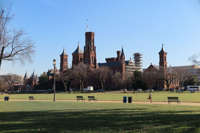 Smithsonian Castle in a sunny day. Architecture Architecture Beautifulday Beauty In Nature Building Exterior Caslte Castle City Cityscape Day DC Grass No People Outdoors Placesofinterest Sky Smithsonian Castle Travel Destinations Tree Urban Skyline Washington, D. C.