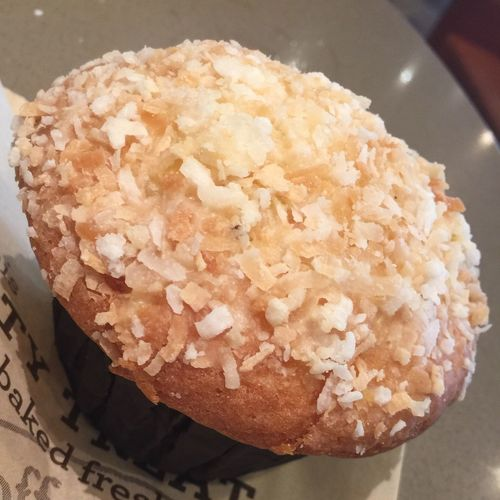 Pineapple Coconut muffin Muffin Breakfast Muffins Fruity Food Bakery Baked Goods