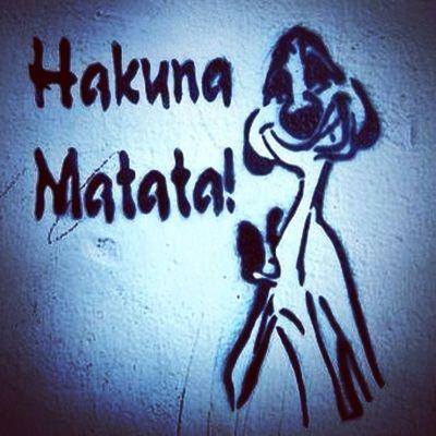 девиз по жизни Hakuna Matata все будет... Lion king 1994 live