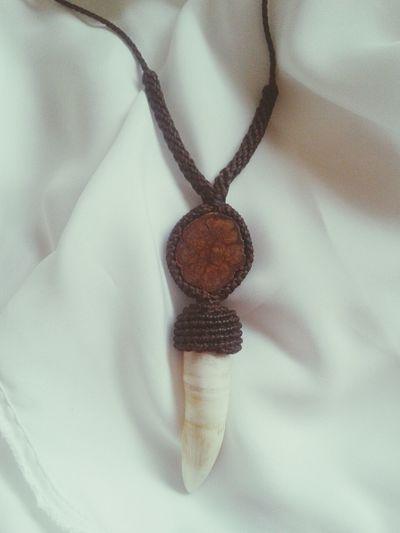 Artesanato Jacaré  Necklace Present