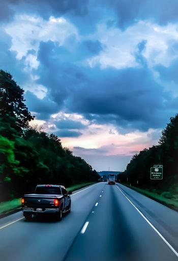 City Road Defocused Car Land Vehicle Sky Cloud - Sky Travel The Traveler - 2018 EyeEm Awards