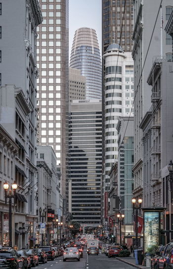 Architecture San Francisco Architecture Building Building Exterior Built Structure Car City City Life City Street Cityscape Day Financial District  Incidental People Land Vehicle Light Mode Of Transportation Modern Motor Vehicle Office Office Building Exterior Outdoors Road Skyscraper Street Streetphotography Transportation Travel Destinations