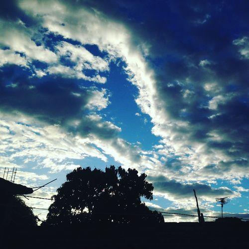 Cuando viene la aurora. Chiapas, México. Atardecer, Ciudad,Paisaje, Cielo,