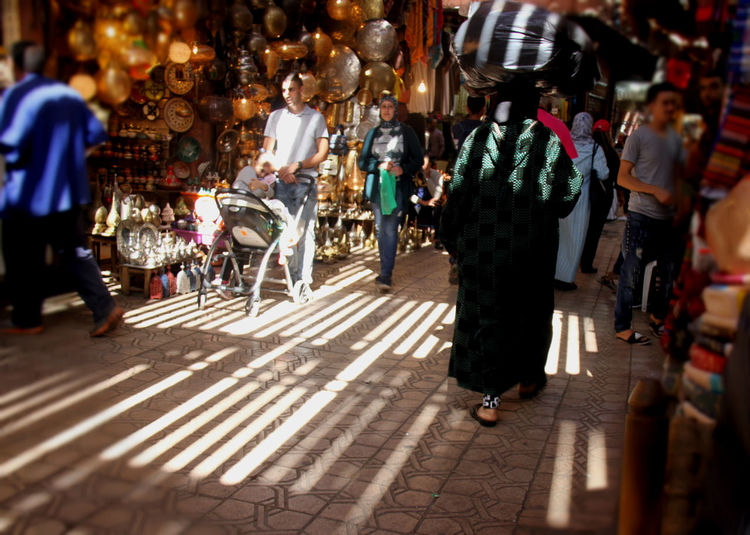 EyeEmNewHere Suq Morocco Travel MoroccoTrip Marrakech Medina, Morocco Marrakech, My Love... History Place Africanpeople Eyeemmasterclass Group Of People City Real People Large Group Of People Street Walking City Life Crowd Women Adult Night Full Length Business Men Incidental People Architecture Market Retail  Outdoors