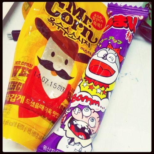 간식 올리브영 Food Yammy :)