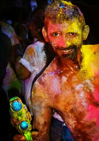 One Person Celebration Multi Colored Holi Looking At Camera Only Women Adult People Portrait Adults Only Traditional Festival Happiness Lifestyles Real People Yellow EyeEm Gallery Fun Enjoyment Check This Out Powder Paint Lavapies  Body Painting Water Gun Madrid Your Ticket To Europe Mix Yourself A Good Time