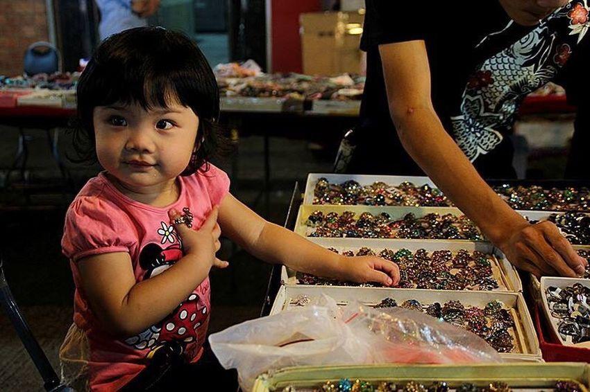 Childhood Innocence Nigntmarket HongKong Street